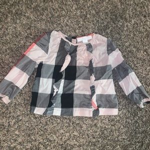 Infant Burberry top